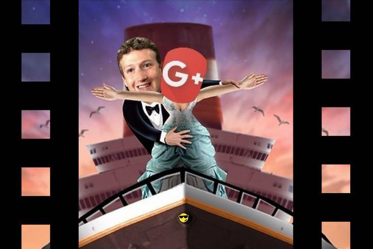 Google Plus está liada con Facebook