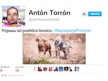 Un twittero consigue etiquetar a todo su pueblo en un solo tweet