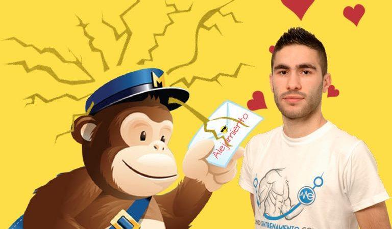 El Mono de Mailchimp, Pone una Orden de Alejamiento contra Alex Novás