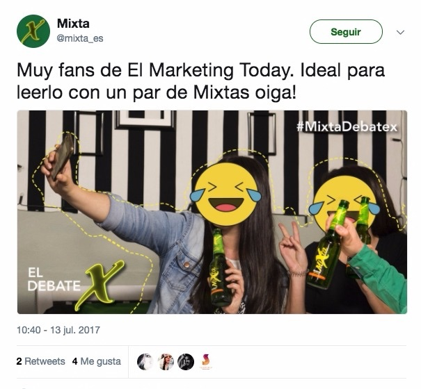 Mixta lee el Marketing Today
