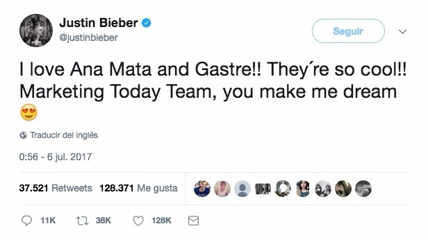 Justin lee El Marketing Today