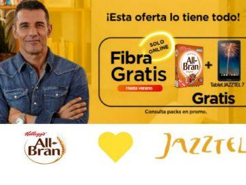 Jazztel compra All-Bran para dar más fibra