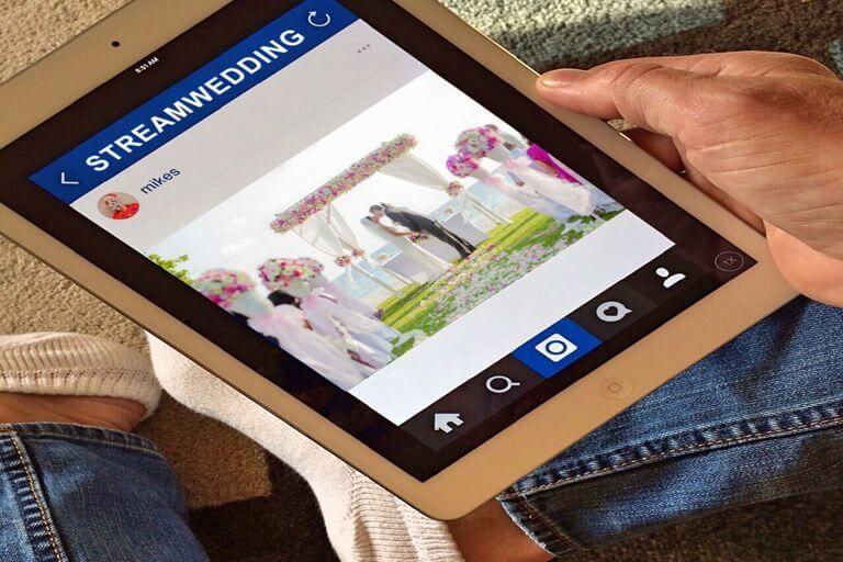 Instagram lanza StreamWedding para asistir a las bodas por streaming desde casa