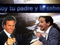 Pablo Iglesias es hijo de Julio Iglesias