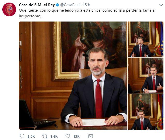 Testimonio de El Rey