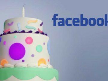cumple facebook