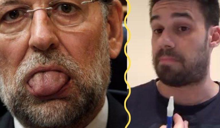 Acalorada Charla entre Rajoy y Luis Villanueva