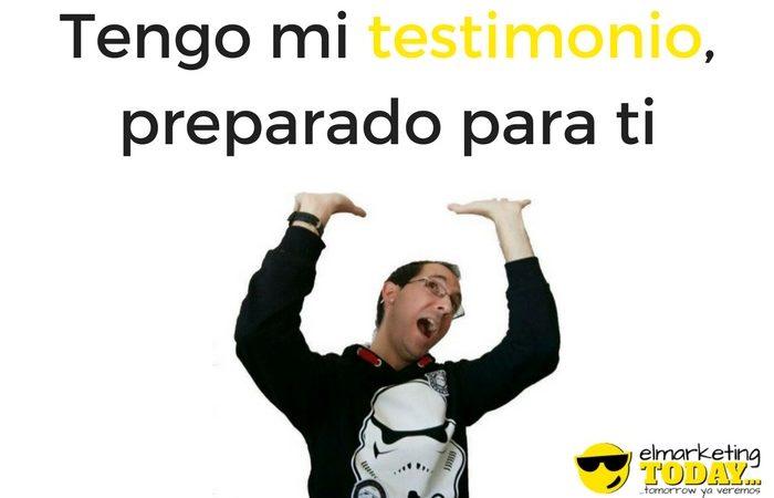 Rubén Alonso Confiesa: «No siento lo que digo en los Testimonials» 🙊