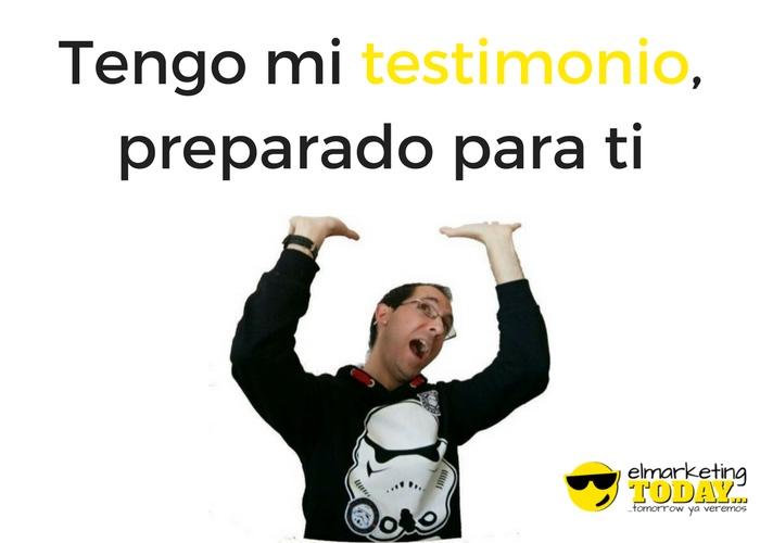 #RubenMonio, Sorteamos un testimonio de Rubén Alonso