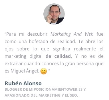 ruben testimonio marketing
