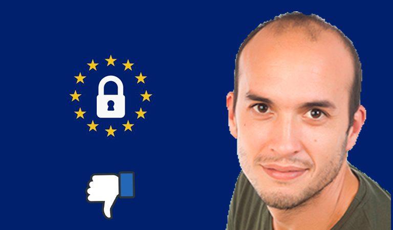 Víctor Campuzano denunciará a Facebook por copiar su RGPD