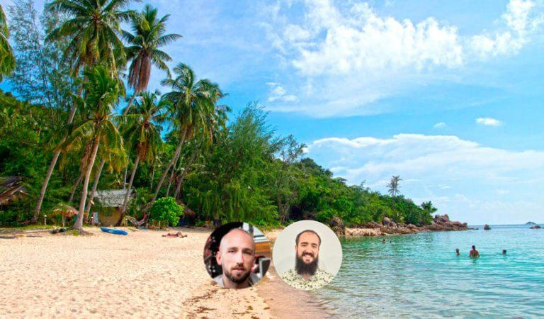 Alvaro San y David Moral plantean comprarse una isla en Tailandia